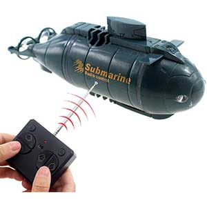 Tipmant Nuclear RC Submarine | Electric Dive | Auto On/Off