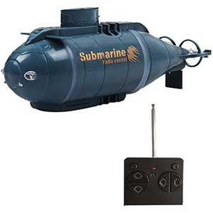 YEIBOBO! RC Submarine Toy | 6 Channels | LED Headlight