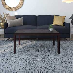 Ameriwood   Home Parsons Coffee Table For Sectional   Espresso