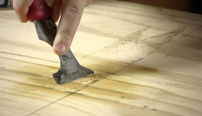 How to Remove Wood Glue
