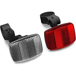 LGEGE Bike Reflectors | Two Lights