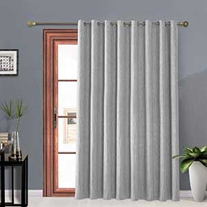 Melodieux Thermal Curtains for Patio Door | Metal Grommets