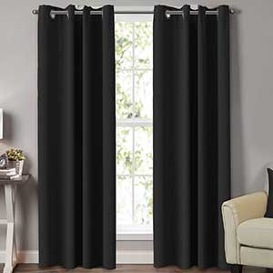 Turquoize Thermal Curtains for Patio Door | Microfiber Polyester