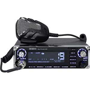 Uniden P25 Scanner | 885's Built-in GPS