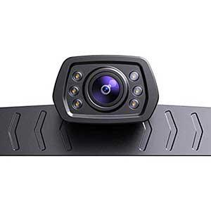 ZEROXCLUB License Plate Camera | 720p Resolution | IP69